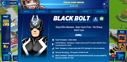 Black Bolt's Profile