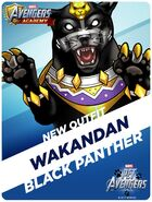New Outfit Pet Avengers Event Wakandan Black Panther
