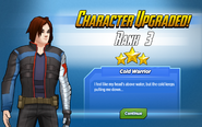 Character Upgraded! Winter Soldier Rank 3