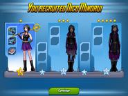 Nico rank ups