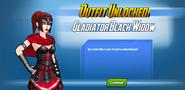 Outfit Unlocked! Gladiator Black Widow