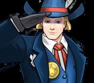 Captain America Sheriff Icon