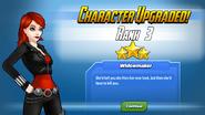Character Upgraded Rank 3 Black Widow