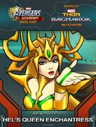 New Outfit Thor Ragnarok event Hel's Queen Enchantress