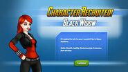 Character Recruited Black Widow