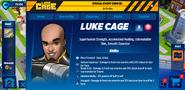 Luke Cage's Profile