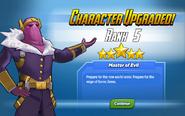 Character Upgraded! Baron Zemo Rank 5