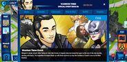 Warriors Three Event tab