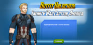 Outfit Unlocked! Infinity War Captain America