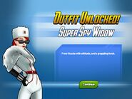 Outfit Unlocked Super Spy Widow