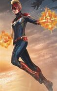 Captain Marvel Konzeptbild 1