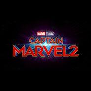 Captain Marvel 2 Logo