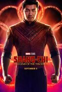 Shang-Chi and the Legend of the Ten Rings Teaserposter