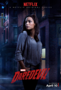 Daredevil Staffel 1 Charakterposter Claire Temple