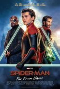 Spider-Man - Far From Home Kinoposter