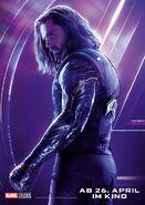 Avengers - Infinity War - Deutsches Winter Soldier Poster