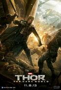 Thor - The Dark World Fandral Charakterposter