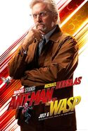 Ant-Man and the Wasp Charakterposter Hank Pym