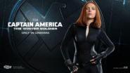 Captain America 2 Promobild Black Widow