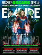 Captain Marvel Empire Cover