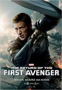The Return of the First Avenger Captain America Charakterposter