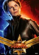 Captain Marvel deutsches Charakterposter (Annette Bening)