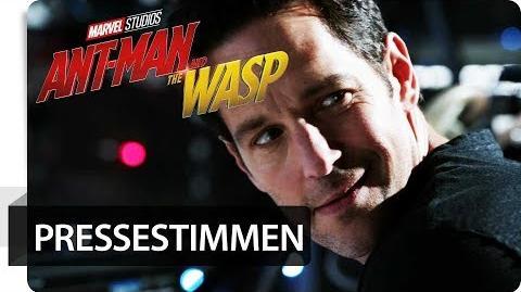 "ANT-MAN AND THE WASP - Pressestimmen ""Super Sommer Blockbuster"" Marvel HD"