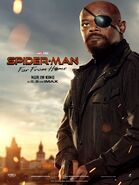 Spider-Man - Far From Home deutsches Charakterposter Nick Fury