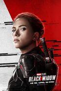 Black Widow - deutsches Charakterposter Black Widow