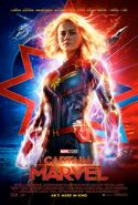 Captain Marvel deutsches Kinoposter
