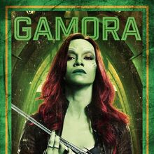 Guardians of the Galaxy Vol.2 deutsches Charakterposter Gamora.jpg