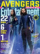 Avengers - Infinity War Entertainment Weekly Cover 11