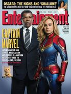 Captain Marvel Entertainment Weekly Cover 2