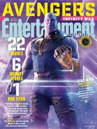 Avengers - Infinity War Entertainment Weekly Cover 3
