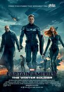 Captain America The Winter Soldier Kinoposter