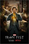 Marvel's Iron Fist Staffel 1 Poster Deutsch
