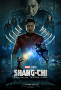 Shang-Chi and the Legend of the Ten Rings deutsches Kinoposter