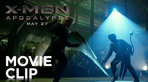 """X-Men Apocalypse """"Cage Fight"""" Clip HD 20th Century FOX"""