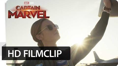 CAPTAIN MARVEL – Filmclip Über den Wolken Jetzt im Kino Marvel HD