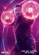 Avengers - Infinity War - Deutsches Wong Poster