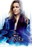 Doctor Strange deutsches Charakterposter Christine Palmer
