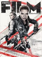 Black Widow - Total Film Cover