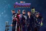 Avengers - Endgame Teamfoto
