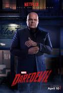 Daredevil Staffel 1 Charakterposter Wilson Fisk