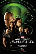 Marvel's Agents of S.H.I.E.L.D. Staffel 4 Agents of HYDRA Poster