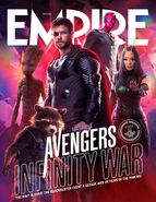 Avengers - Infinity War Empire Cover 3