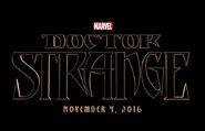 Doctor Strange Filmlogo