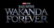 Black Panther - Wakanda Forever Logo