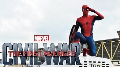The First Avenger Civil War - Spiderman - JETZT im Kino Marvel HD