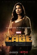 Marvel's Luke Cage Staffel 1 Claire Temple Charakterposter